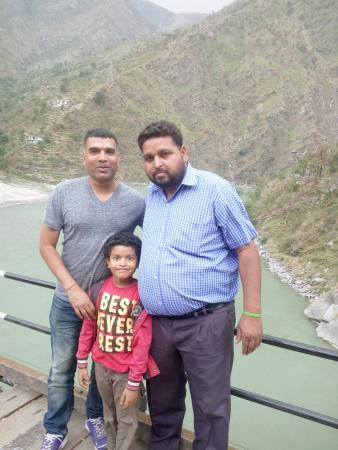 Ambala, Hindistan: with Harpal Singh (driver sent by Mr.Daljeet).