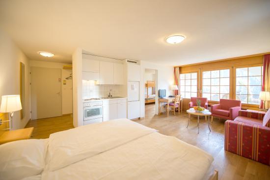 Wiesen, Zwitserland: Zweizimmer-Appartement