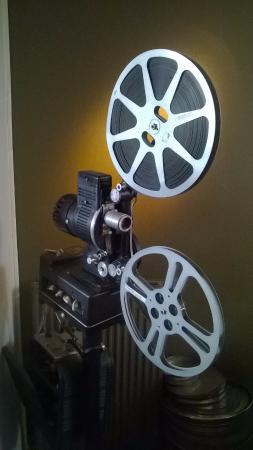 Oudenaarde, Belgia: Oude projector van cinema