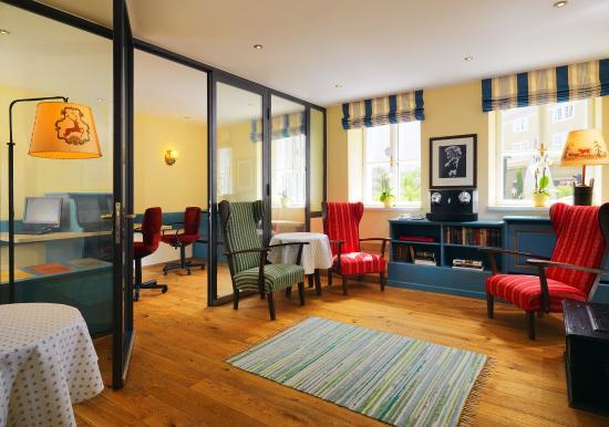 Hotel Goldener Hirsch, a Luxury Collection Hotel, Salzburg: Business Center