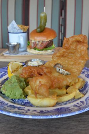 The George at Backwell: A good Fish & Chips