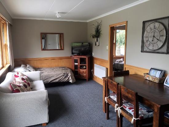 Roxburgh, Selandia Baru: 2bdrm lounge