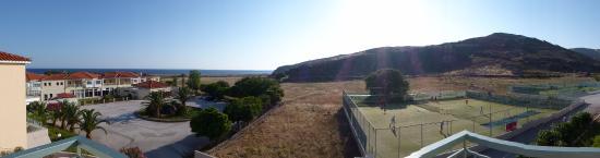 Skala Eresou, Greece: View from room 8