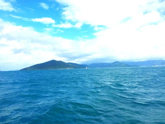 Illusions Whitsundays: on the sea