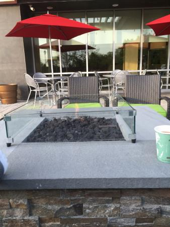outdoor fire pit seating area picture of home2 suites by hilton rh tripadvisor co nz