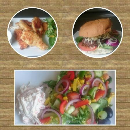 The Green Frog Cafe and Tea Room: just some of the food we serve