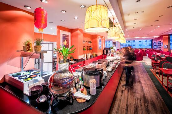 Vienna House Diplomat Prague Restaurant Breakfast Buffet