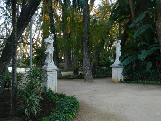 Jard n bot nico en el parque de m laga picture of parque for Bodas jardin botanico malaga