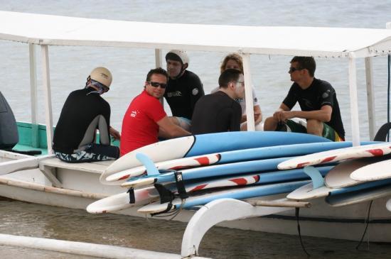 Rip Curl School Of Surf : Выезд на спот