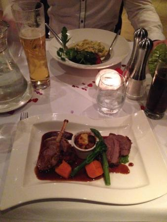 Prestbury, UK: Trio of Lamb