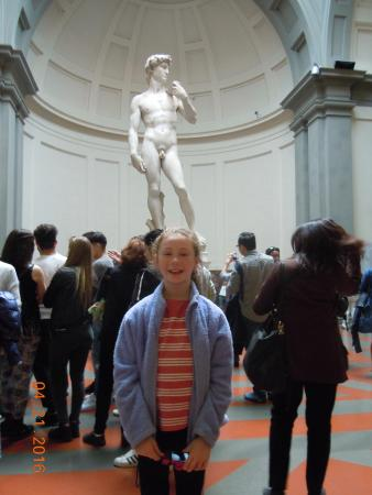 Context Florence: Accademia Gallery with tour guide Chiara Mallardi - exceptional!
