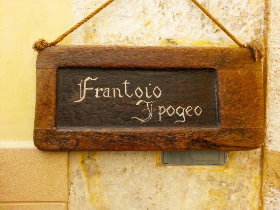 Presicce, อิตาลี: frantoio ipogeo