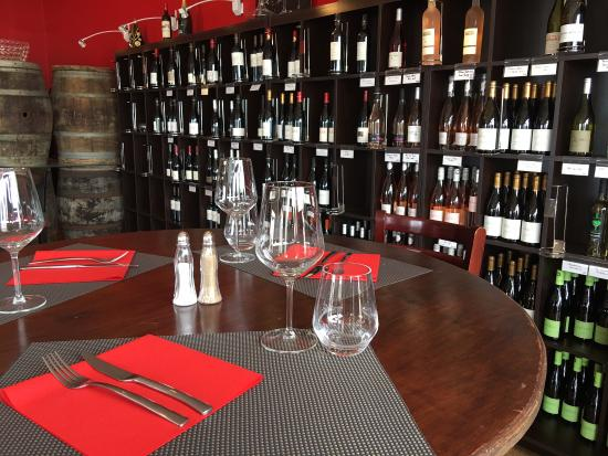 Saleilles, ฝรั่งเศส: cave à vin