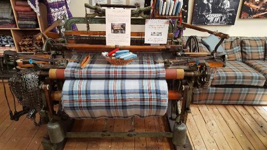 The Lochcarron Weavers Shop