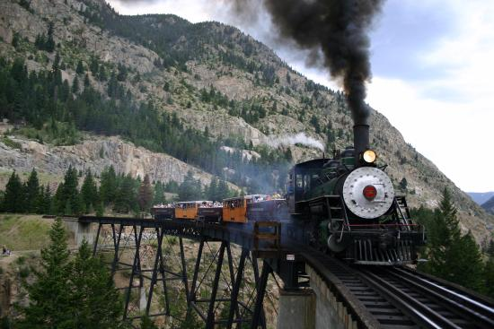 Frisco, CO: Ridin' the Rails at the Georgetown Loop RR