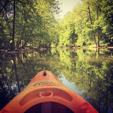 Grove City, OH: Kayaking