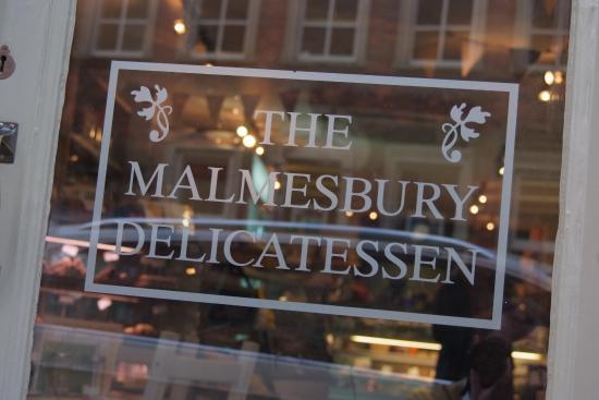 The Malmesbury Delicatessen ... full of allsots of goodies!