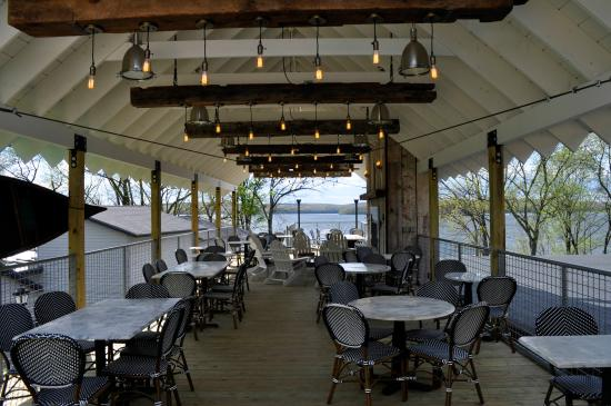 The Deck At Dock On Wallenpaupack