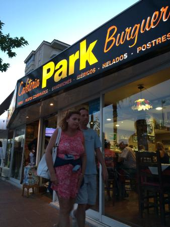 Park Cafeteria Burguer