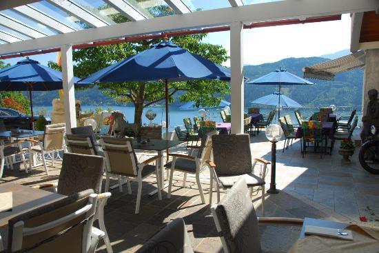 Hotel Alexanderhof: Terrasse