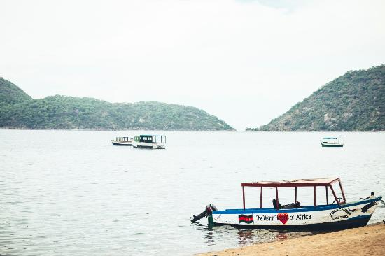Cape Maclear, Malawi: View from the bar at Funky Cichlid