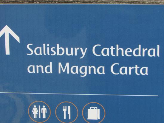 Salisbury, UK: Clear directions