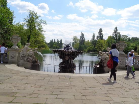 Kensington Park Picture Of Kensington Gardens London