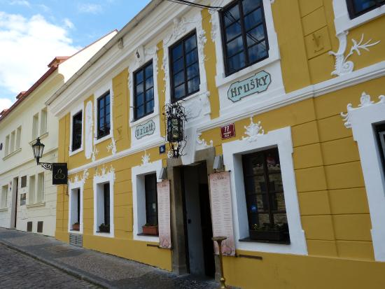 Restaurace U Zlate Hrusky: jolie resto tchèque