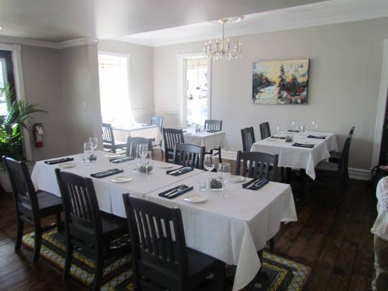 Port Stanley, Kanada: Dining room