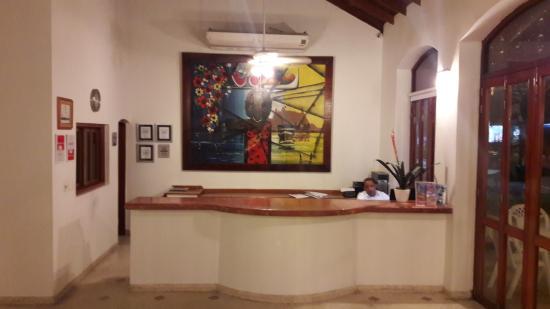Hotel San Martin Cartagena: Recepción del hotel