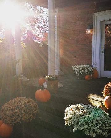 The Mount Vernon Inn: A pretty November Morning
