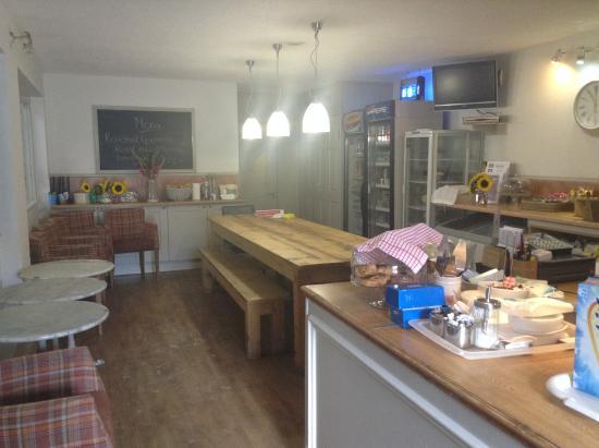 Trent Park Equestrian Centre Inside Cafe Remy