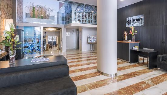 Hotel SERHS Carlit: Recepcion