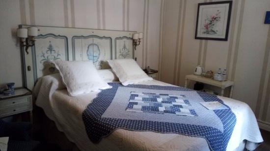 "16 Place St Louis: Наша ""Голубая комната"""