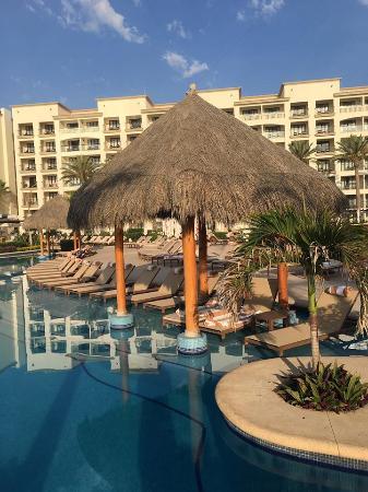 Cabana's at each pool if you want shade
