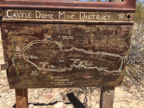 Yuma, AZ: 2nd Half of the visit is a walking tour