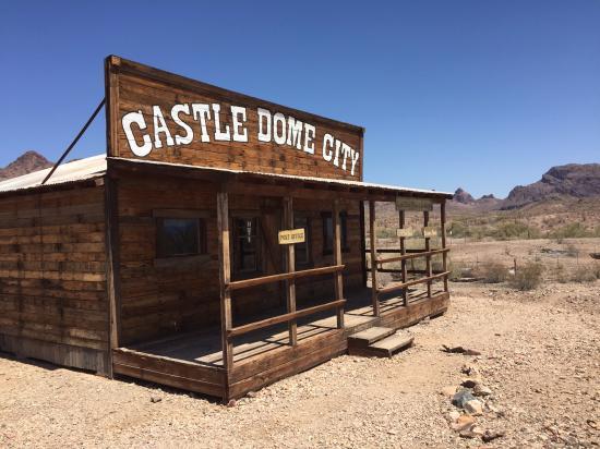 Yuma, AZ: Reconstruction on walking tour