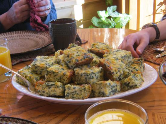 The Agate Cross Bed & Breakfast, LLC: Spinach Quiche