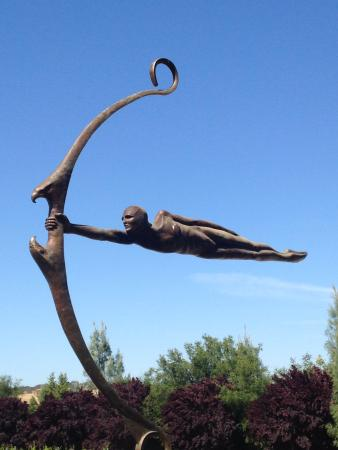 Пасо-Роблес, Калифорния: Scultura has great wines and a really neat sculpture garden