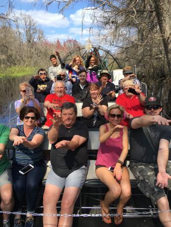 Lake Panasoffkee, FL: swamp adventure