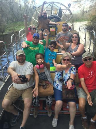 Lake Panasoffkee, FL: Airboat rides near Orlando Tampa