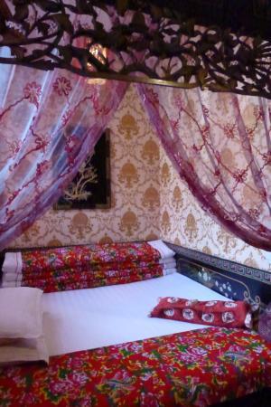 Yuchengyuan Inn: le lit