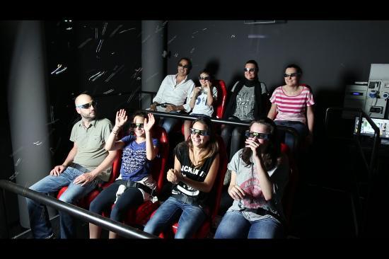 Cinema 6D Cascata delle Marmore