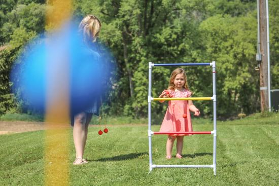 Red Wing, MN: Bring the family! Our farm is perfect for a walk or picnic, and we have games too!