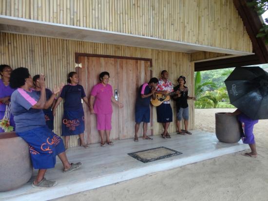 Qamea Resort And Spa Fiji: The staff. The best.