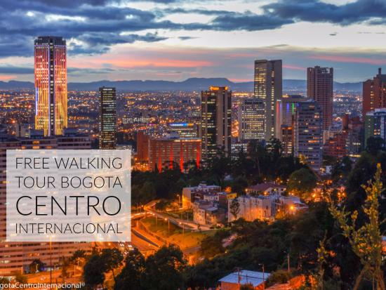 Free Walking Tour Bogota International Downtown