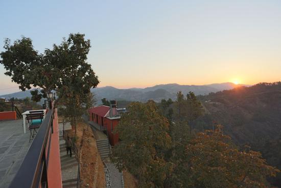 Balthali, نيبال: Sunrise view