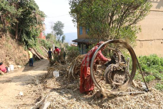 Balthali, Nepal: surroundings