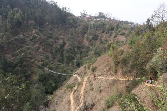 Balthali, نيبال: hiking
