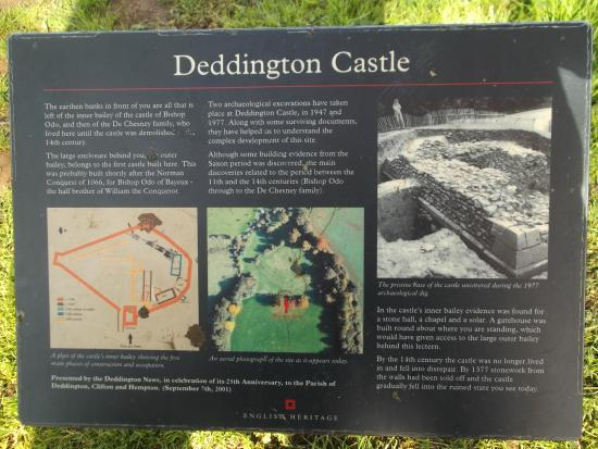 ‪Deddington Castle‬